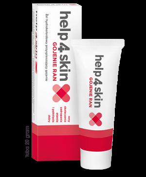 Help 4 skin - Żel hydrokoloidowy przyspieszający gojenie GOJENIE RAN